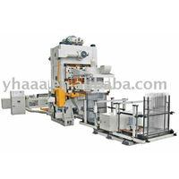 Air conditioner fin press machine