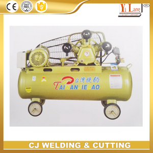 High pressure 180L 10H 7.5kw piston type portable air compressor