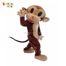 Enjoyment CE cute cartoon animal monkey mascot costumes for promotion