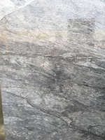 Italian silver travertine slabs for interior decoration
