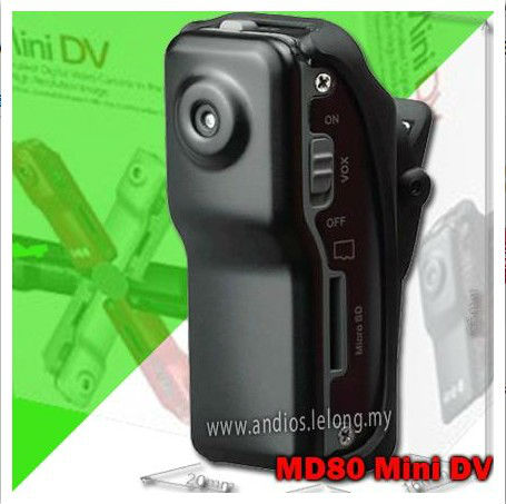 720P Sport Camera Md80 Mini Dv Camcorder