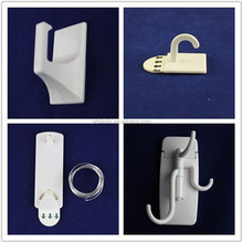 self adhesive plastic and stainless steel hanger hook