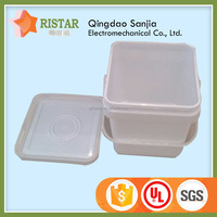 many sizes of pails quality multi-function plastic square drum