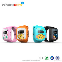 Manufacturers cheap smart hand watch mobile phone for kids with GPS real-time locating