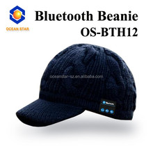 bluetooth knitted hat teenagers beanie hats