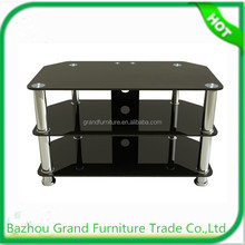 Simple style cheap glass tv stands for sale