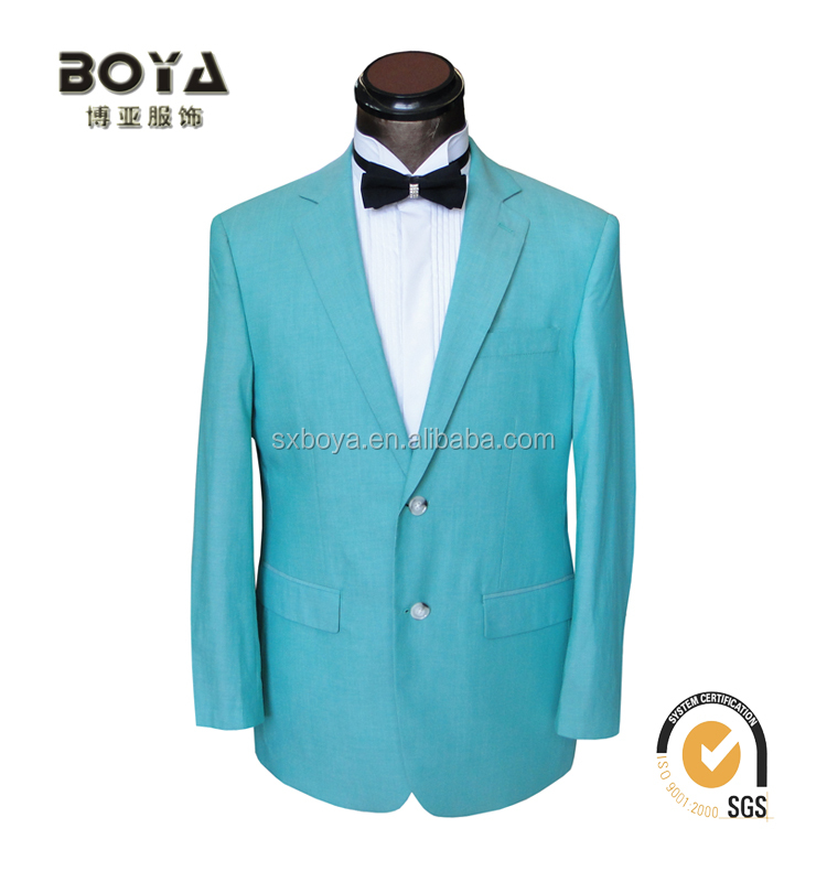 2015 new design regular suits T/R blazers for men casual mens blazer with bright color