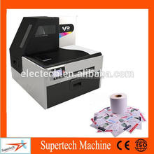 High quality small adhesive label sticker printing machine with multi-color