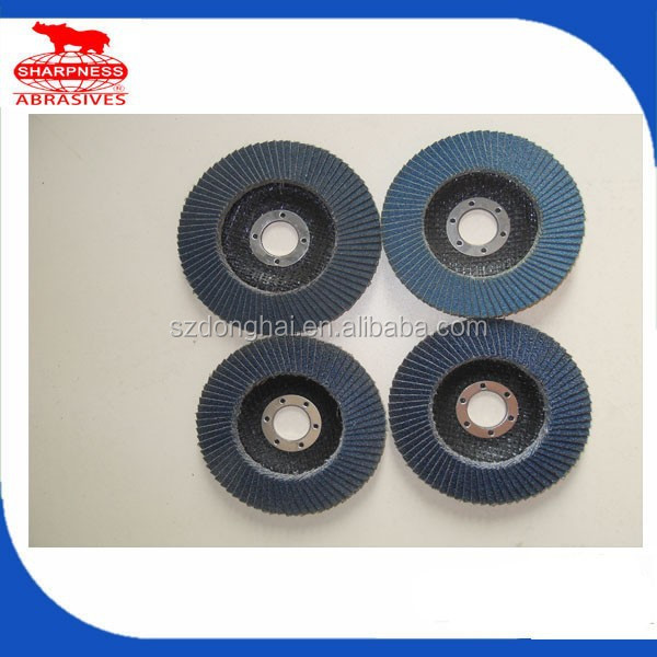 Free Sample Fiber glass Backing Abrasive Flap Disc
