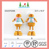 Christmas gingerbread man soft toy