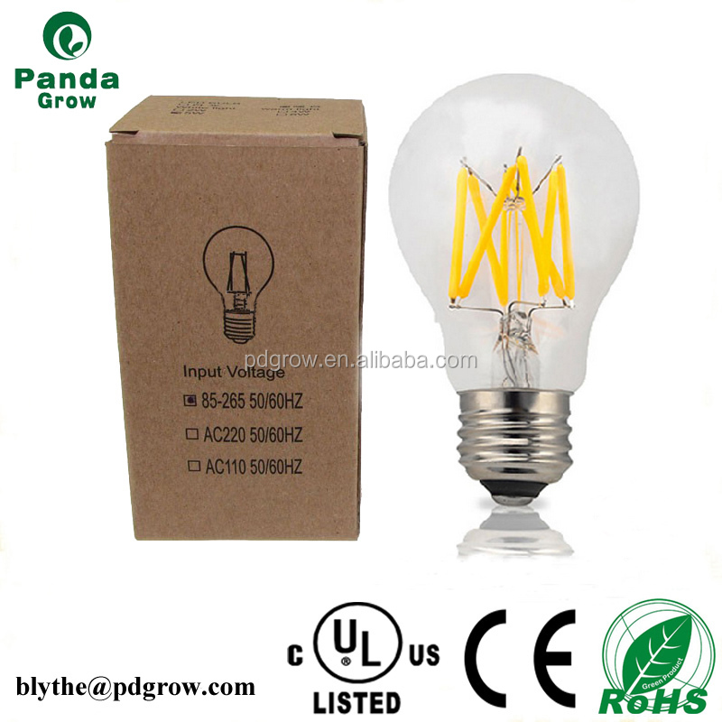 dimmable milky /clear cover A60 4w led globe bulb B22 E27 replace 40-45w incandescent lamp