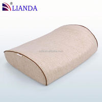 Lumbar Back Support Cushion Pillow with Insert and Strap Lower Back Pain vibration massage lumbar cushion