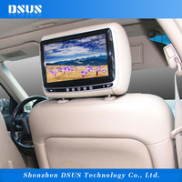 9 inch multifunction car cd player headrest dvd player game player