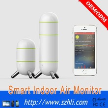 Health Product Smart Wifi Air Quality Monitoring System High-End Indoor Environment Air Quality Monitor
