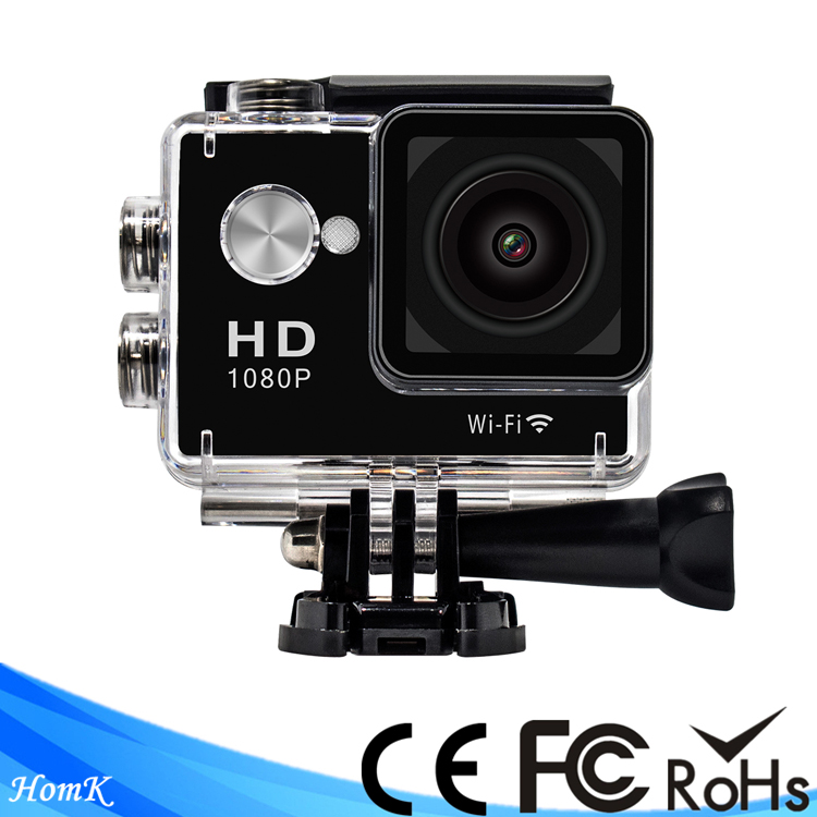 W9 GPCV4248 WiFi Sports Camera Full HD 1080P 30fps 2.0 LCD 140 Degree Waterproof Action Cam