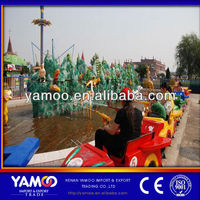 New attraction water shooting game water toys rides theme park toys water park equipment