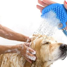 Pet Shower Sprayer Pet Bathing Tool Bush and Hose for Dog Wash and Grooming