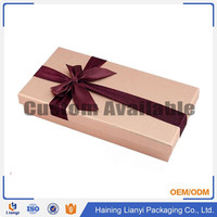 Customized Folding Design Logo Cardboard Gift