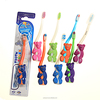 Oral Hygiene Bear Shape Handle Baby Brush Small head for Toddler