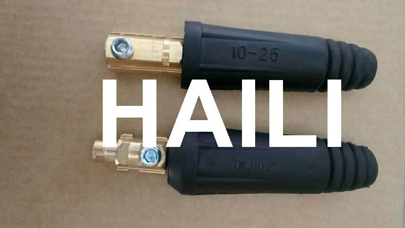 200A Euro Type Male and Female Welding cable Joint DKL10-25