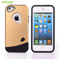 New PC+TPU hard back cover case for iphone 5se