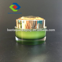 make up case plastic diamond cosmetic jar