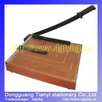 Deli Wooden Paper Trimmer a4 paper trimmer