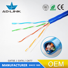 china supplier electric wire and cable networking cat5e utp/stp/ftp/sftp lan cable