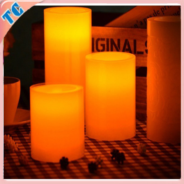 good use decorative candle led candle light, wax candle for party,room decoration