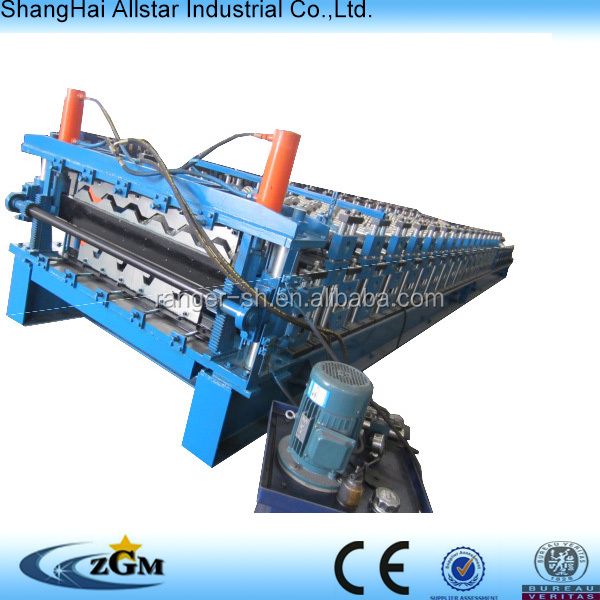 Metal Sheet Rolling Machine, Double Layer Forming Roll Line, Double Deck Production Equipment