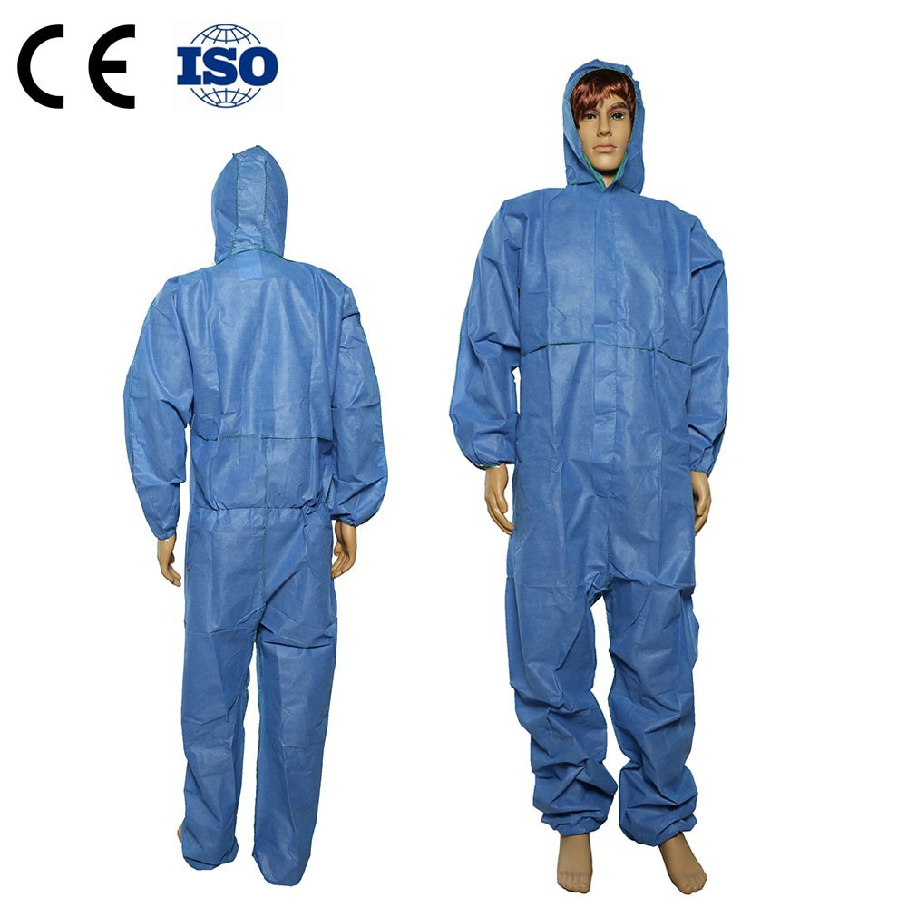 Disposable Non Woven Coverall for Oil Field and Gas Protection