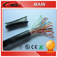 Telecommunication Multipairs Telephone Cable Jelly Filled Underground Cable