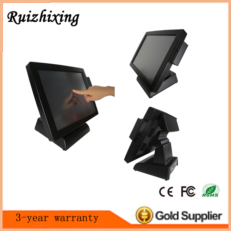 Cost-effective all in one smart card reader magnetic/emv touch screen pos system