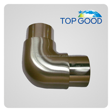 stainless steel stair handrail tube connector for post