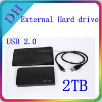 wireless hard drive 2tb USB2.0 wholesale external hard disk