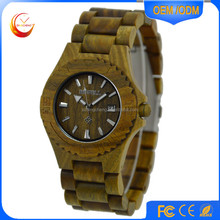 Factory price bamboo wood watch natural custom logo watch wood luxury men wrist watch