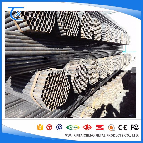 China Professional Supplier Din 2448 st35.8 Seamless Carbon Steel Pipe 4