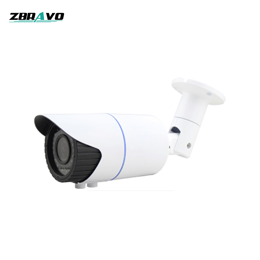 2018 New Wholesale 42pcs IR Leds 40 Meters IR Distance Bullet Waterproof 4 Mega Pixel AHD Camera CCTV Cameras