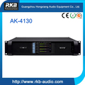 AK-4130 professional 1300w x4 outdoor power amplifier