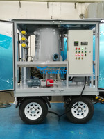 Weather Proof Aged Transformer Oil Filtration/Oil Water Separating/Oil Purification Machine