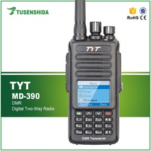 2016 Popular Handheld 5W Dual band UHF VHF DMR Transceiver Walkie Talkie CTCSS/DCS/VOX fm Mobile two way Radio