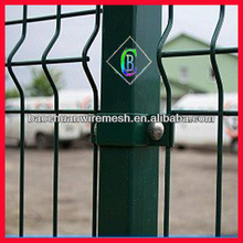 PVC coated Security bending garden fence