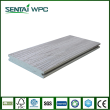 Anti-bending professional anti aging wood grain outdoor decking floor