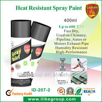 Red Heat Resistant Spray Paint, Up to 400 Degree !
