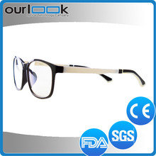 Good Quality Black White Double Colors TR90 Available Brand Name Spectacle Frames