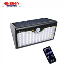 Super Brightness Solar Led Pir Motion Sensor Wall Lights Outdoor Solar Garden Lamp Waterproof Ip65