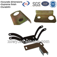 Metal brackets for building