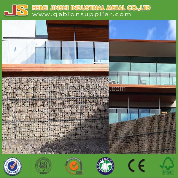 Decorative welded gabion retaining walls Factory