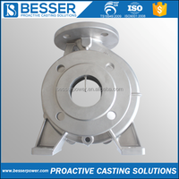 304 316 316L CF8 High Quality ISO9001 Customized Swimming Pool Pump Investment Casting