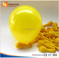 New Yellow Balloon for Party Decoration, 7inch Size, Helium Quality Round Latex Balloon